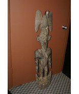 Papua New Guinea Unique 4FT Suspension Hook Hand Carved Iatmul Tribe Sep... - $759.99