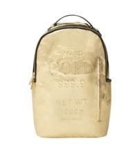 Sprayground Fine Gold Brick Money Urban School Book Bag Laptop Backpack ... - $89.99