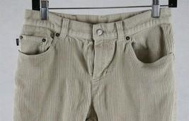 Ralph Lauren Jeans Company Womens Beige Corduroy Pants Size 6, Measures 28 x 30 - $17.81