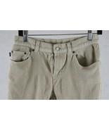 Ralph Lauren Jeans Company Womens Beige Corduroy Pants Size 6, Measures ... - $17.81
