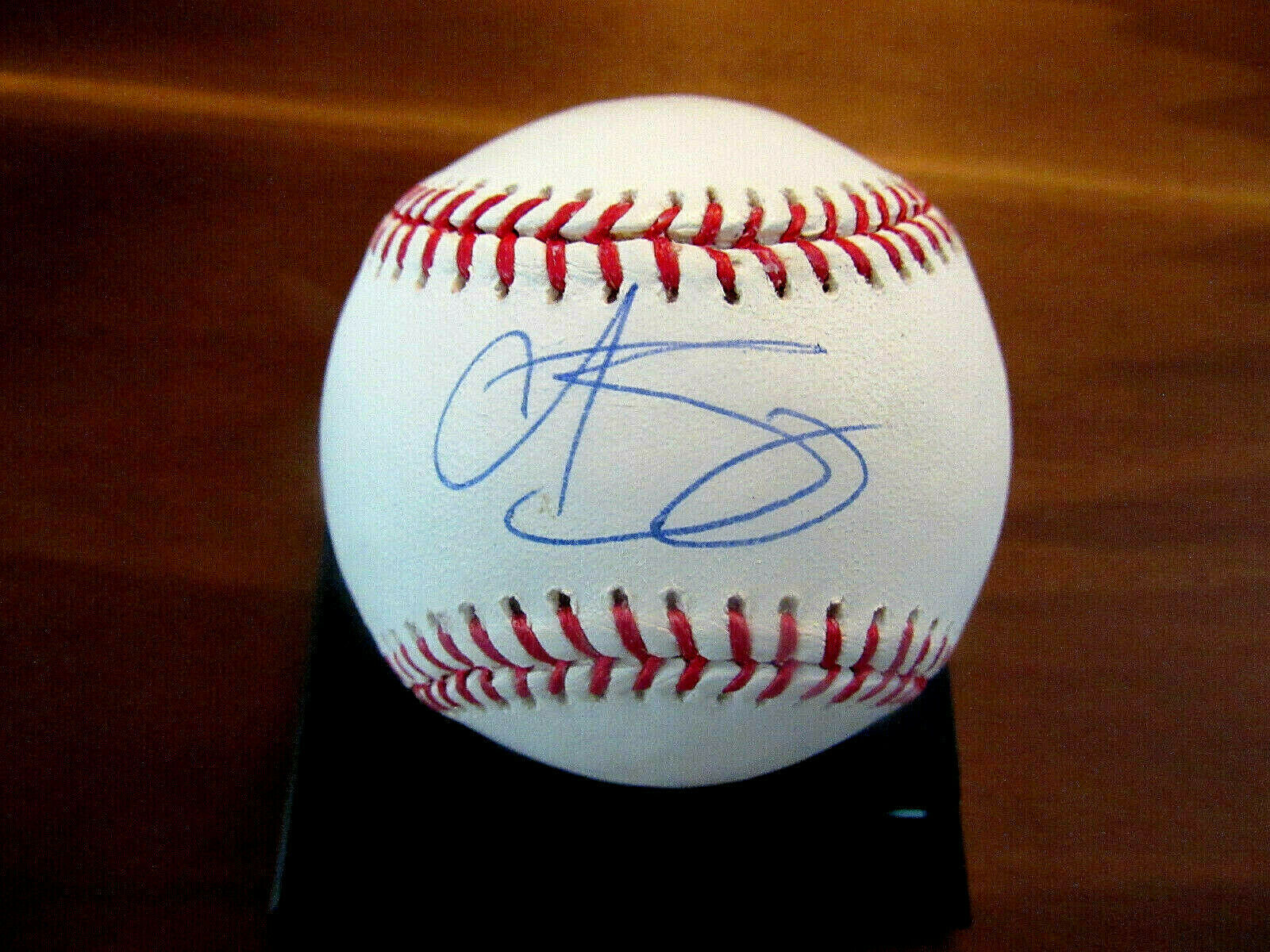 Primary image for CURT SCHILLING WSC CY ARIZONA RED SOX PHILLIES SIGNED AUTO OML BASEBALL STEINER