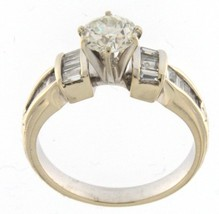 N/a Women's 14kt White Gold Solitaire ring - $2,499.00