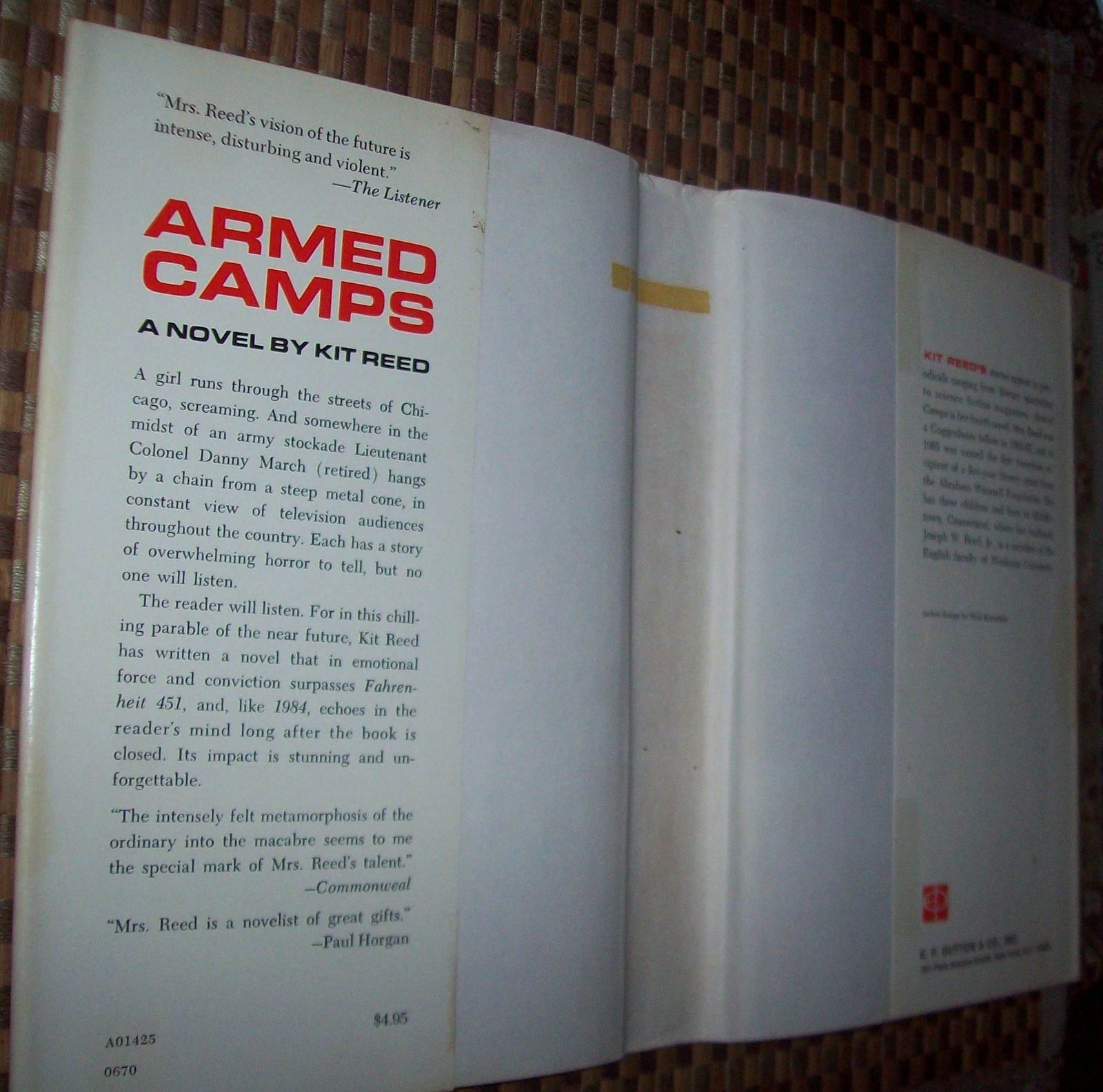 Armed Camps by Kit Reed 1970 HBDJ Future Horrors?