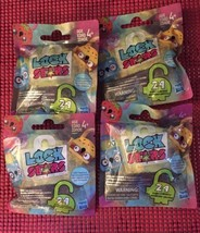 LOCK STARTSAR CLIPPABLE Series 3 Blind Bags (Lot of 4)  *NEW UNOPENED* - $9.99