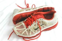 Nike AIRMAX 2011 429890-106 Wmns Sz 9 Summit White / Anthracite-Crimson Sneakers - $29.70