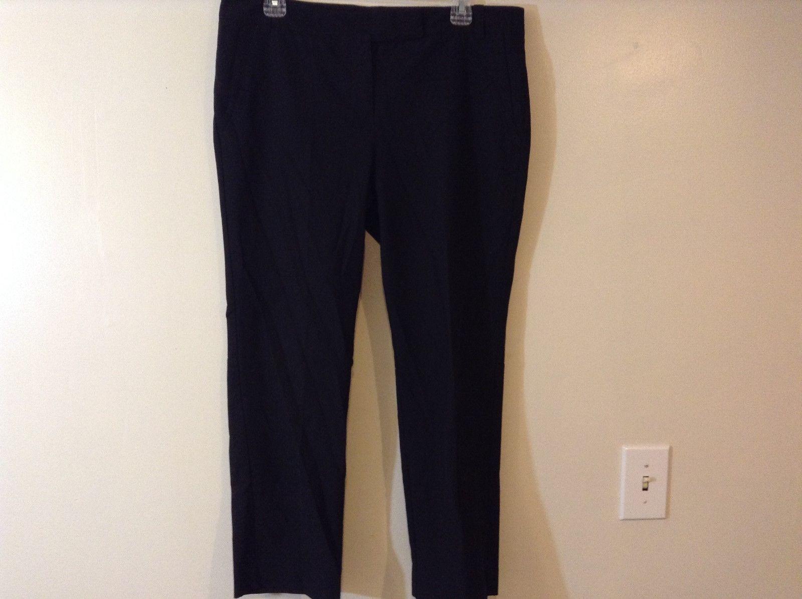 New York & Co STRETCH Ladies Black Dress Pants Sz 10