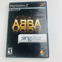 SingStar: ABBA (Sony PlayStation 2, 2008) PS2 Game Complete With Manual  - $12.86
