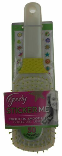 Goody Sticker Me Hair Brush Lot 4 Design Decorate Stickers Party Craft Kids NEW