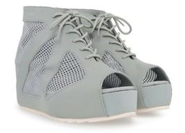 PUMA by Hussein Chalayan HAKODA SUMMER Shoes PURITAN GREY Peep Toe 10 1/... - $129.97