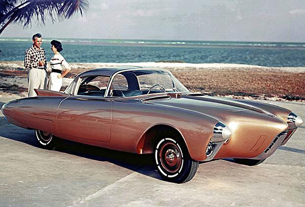 Primary image for 1956 Oldsmobile Golden Rocket Concept Car - Photo Poster