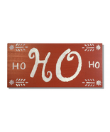 Ho Ho Ho, Red & White, Handcrafted wooden sign - $25.00