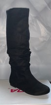 Soda Black Suede Slouchy Boots size 51/2 - $16.99