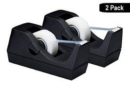 "1InTheOffice Desktop Tape Dispenser, Black""2 Pack"" Tape Dispenser - $16.11"