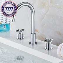 Kes 3-Hole Two Handle Widespread Laundry Utility Bathtub Faucet Polished... - $28.24