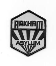 Batman Arkham Asylum Sanatorium Logo Embroidered Patch, NEW UNUSED - $7.84