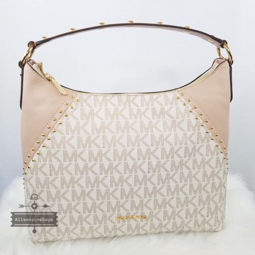 755c09b61ae18d Nwt, Michael Kors Aria Studded Signature Md and 50 similar items. 12