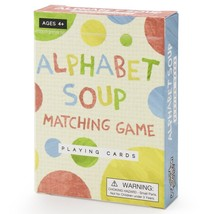 Alphabet Soup Matching and Memory Card Game by Imagination Generation - $9.30