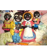 VTG AUNT JEMIMA UNCLE MOSES DIANA WADE DOLL SET BUY NOW THIS IS THE LAST... - $397.99