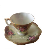 Shafford mini coffee or tea cup with saucer  - $12.50