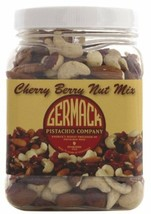 Germack Cherry Berry Snack Mix - Pack of Three jars - 16 Oz each! - $27.23