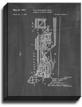 Missile Launching System Patent Print Chalkboard on Canvas - $39.95+