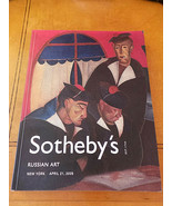 Sotheby's New York Russian Art & Objects Auction Catalog, 362 lots April... - $15.99