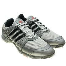 ADIDAS Tech Response 3.0 Mens Size 9.5 Gray Silver Soft Spike Traxion Go... - $24.74