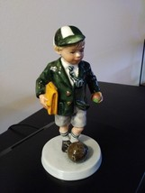 "Royal Doulton 1996 "" Off To School"" Figurine  HN: 3768 Excellent Condition Figur image 1"