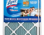 Lysol Triple Protection Furnace/AC Air Filter, 16-Inch x 20-Inch x 1-Inch 2-Pack
