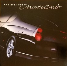 2001 Chevrolet MONTE CARLO brochure catalog 01 LS SS Chevy Earnhardt Int... - $8.00