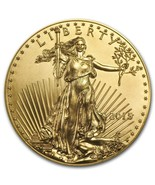 2015 1 oz Gold American Eagle BU ONE FULL OUNCE AUTHENTIC originally fro... - $2,744.00