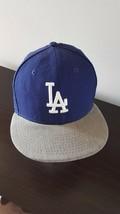 LA DODGERS TRUCKER BASEBALL HAT CAP FITTED SIZE 7.5 NEW ERA ^ - ₹1,052.53 INR
