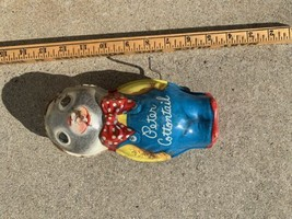 Vintage Peter Cottontail tin toy mattel 1953 wind up usa toymakers metal litho  - $19.79
