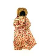 "Vintage Handmade African Doll Hand Made Ebony African Doll 9"" in OOAK Au... - $92.57"