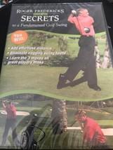 Roger Fredericks Reveals Secrets to a Fundamental Golf Swing DVD NEW NIP - $12.86