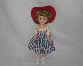 "Beautiful Vintage 11"" HARD PLASTIC Walker Doll Original - $69.74"