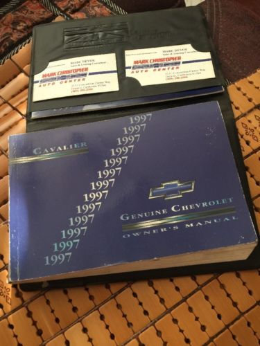 1997 chevrolet cavalier owners manual and 50 similar items rh bonanza com 93 Chevy Cavalier 93 Chevy Cavalier