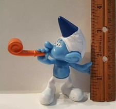 MCDONALDS 2013 PARTY PLANNER #4 SMURFS Blue White Collectible Movie Doll... - $12.86