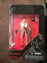 Star Wars The Black Series Poe Dameron 3.75 inches 2015 - $21.00 CAD