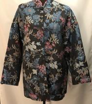 ZARA Women's JACQUARD BLAZER JACKET Size M 8374/622 - $59.30