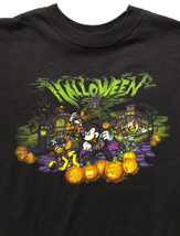 Disney Parks Halloween 2015 Mickey's Not So Scary Black T Shirt Sz.Youth L - $14.77