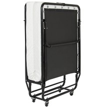 Portable Folding Bed with Memory Foam Mattress Cot Sleeper Roll Away Gue... - $191.60