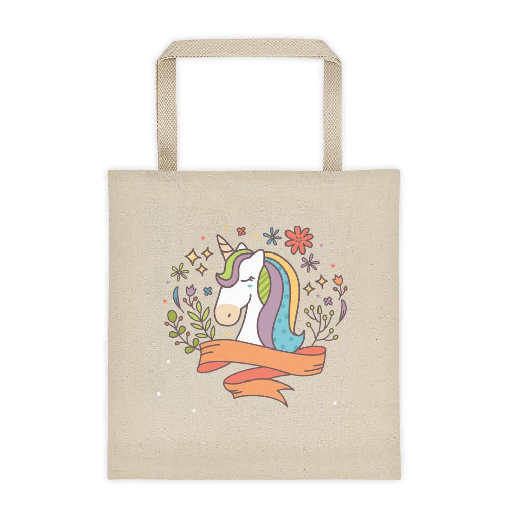 Noble Unicorn Cotton Tote