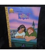 VINTAGE 1996 DISNEY THE HUNCHBACK OF NOTRE DAME GOLDEN BOOK KIDS STORY C... - $7.70