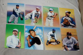 LOT 30 Fleetwood A LEGEND OF BASEBALL 2002 FDC W/STAMPS in sleeves +31 more - $60.00