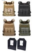 Tactical Scorpion Gear Level III+ / AR500 Body Armor Plates Wildcat Molle Vest - $154.39 - $180.13