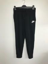 NIKE Sportswear Girls Pants, Black/White, Large - $24.18