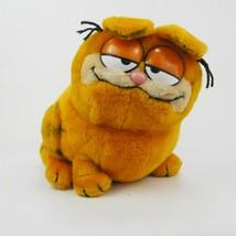 Dakin Vintage 10 inch Plush Chubby Garfield the Cat Jim Davis Creation 1... - $23.33