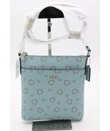NWT Coach Western Heart Print Messenger Crossbody Bag New 29680 - $95.00