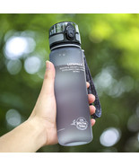 Sports Water Bottles 1L Outdoor Travel Portable Leakproof plastic Drink ... - £15.24 GBP
